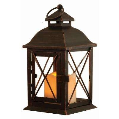 Battery – Timer – Outdoor Lanterns – Outdoor Specialty Lighting Intended For Outdoor Lanterns With Timers (View 2 of 15)