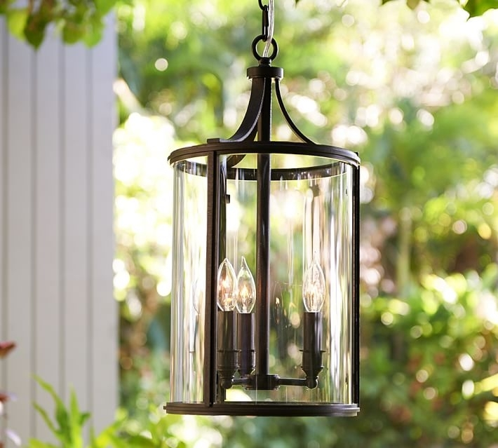 Belden Indooroutdoor Pendant Pottery Barn Regarding Brilliant Within Within Outdoor Pendant Lanterns (#5 of 15)