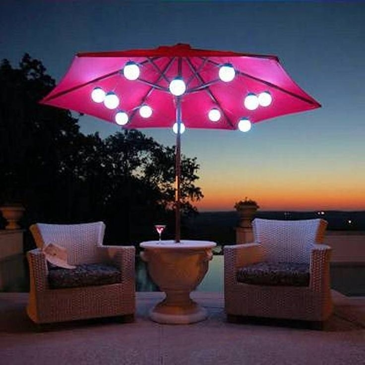 Best Patio Solar Lights Patio Decorating Images Solar Powered Porch In Outdoor Umbrella Lanterns (View 12 of 15)
