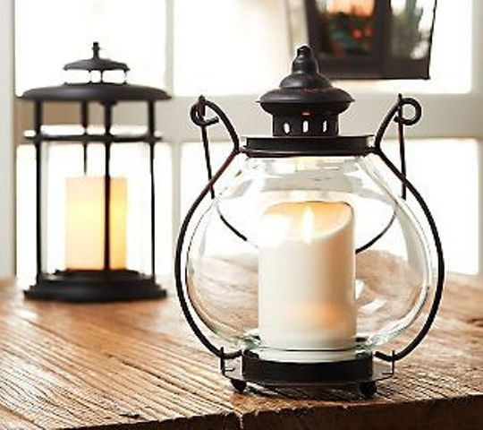 "Bethlehemlights Indoor/outdoor 11"" Jacqueline Lantern With Luminara Pertaining To Outdoor Luminara Lanterns (#1 of 15)"