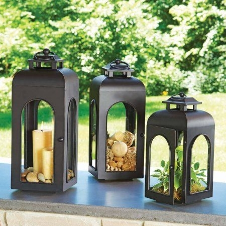 Better Homes And Gardens Domed Metal Outdoor Lantern – Walmart In Walmart Outdoor Lanterns (View 15 of 15)