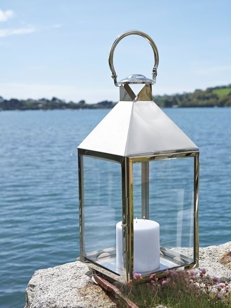 Big Stainless Steel Lanterns | Home Decor | Pinterest | Outdoor With Outdoor Storm Lanterns (View 14 of 15)