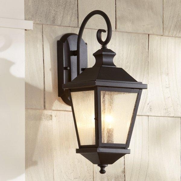 Birch Lane™ Hillside 2 Light Outdoor Wall Lantern & Reviews | Birch Lane Intended For Outdoor Wall Lanterns (View 6 of 15)