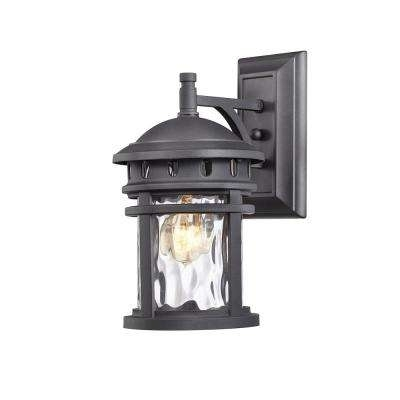 Black – Home Decorators Collection – Outdoor Lanterns – Outdoor Wall In Black Outdoor Lanterns (View 4 of 15)