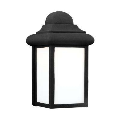 Black – Led – Outdoor Lanterns – Outdoor Wall Mounted Lighting In Black Outdoor Lanterns (View 8 of 15)