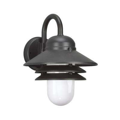 Black – Led – Outdoor Lanterns – Outdoor Wall Mounted Lighting Regarding Led Outdoor Lanterns (View 5 of 15)