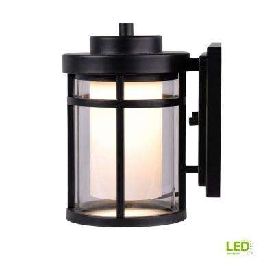 Black – Outdoor Lanterns & Sconces – Outdoor Wall Mounted Lighting In Black Outdoor Lanterns (View 11 of 15)