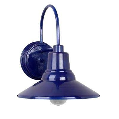 Blue – Outdoor Lanterns & Sconces – Outdoor Wall Mounted Lighting Pertaining To Blue Outdoor Lanterns (View 3 of 15)