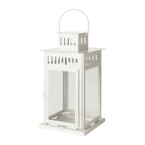 Borrby Lantern For Block Candle – Ikea With Ikea Outdoor Lanterns (#2 of 15)