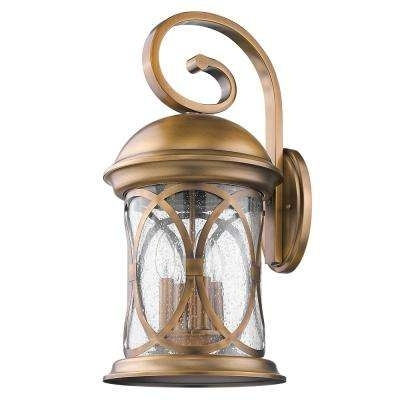 Brass & Gold – Acclaim Lighting – Outdoor Lanterns – Outdoor Wall Throughout Brass Outdoor Lanterns (#1 of 15)