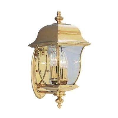 Popular Photo of Gold Outdoor Lanterns