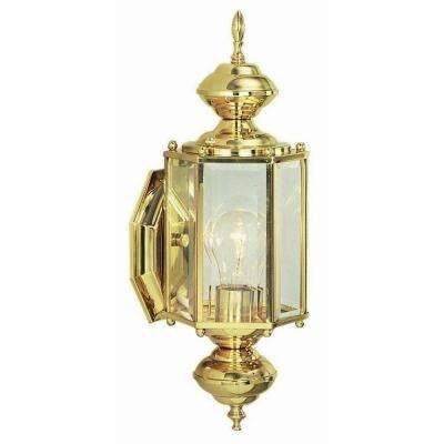 Brass & Gold – Outdoor Wall Mounted Lighting – Outdoor Lighting Throughout Brass Outdoor Lanterns (#4 of 15)