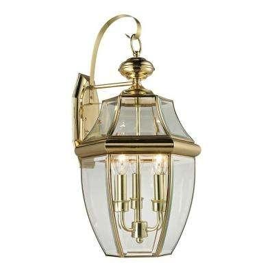 Brass & Gold – Titan Lighting – Outdoor Lanterns – Outdoor Lanterns Throughout Gold Outdoor Lanterns (View 8 of 15)