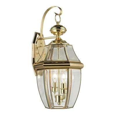 Brass & Gold – Titan Lighting – Outdoor Lanterns – Outdoor Lanterns Within Gold Outdoor Lanterns (View 5 of 15)
