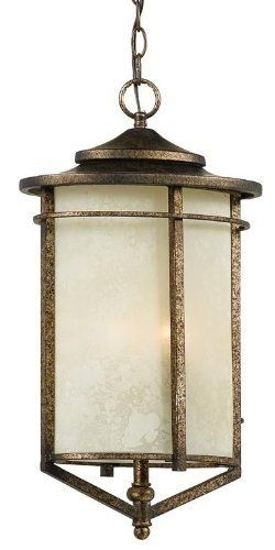 "Braxton Outdoor Jumbo Hanging Lantern 12 W"" Quoizel Bx1912Ds Pertaining To Jumbo Outdoor Lanterns (View 3 of 15)"