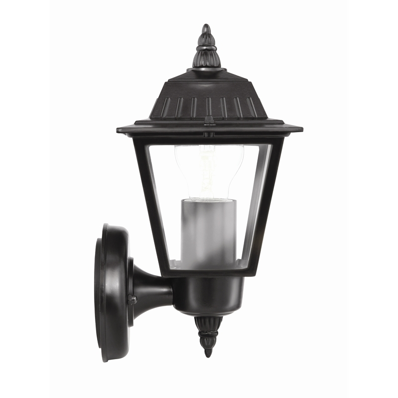 Brilliant 240v Tamar Black Coach Wall Light | Bunnings Warehouse For Outdoor Lanterns At Bunnings (View 2 of 15)