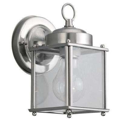 Popular Photo of Nickel Outdoor Lanterns