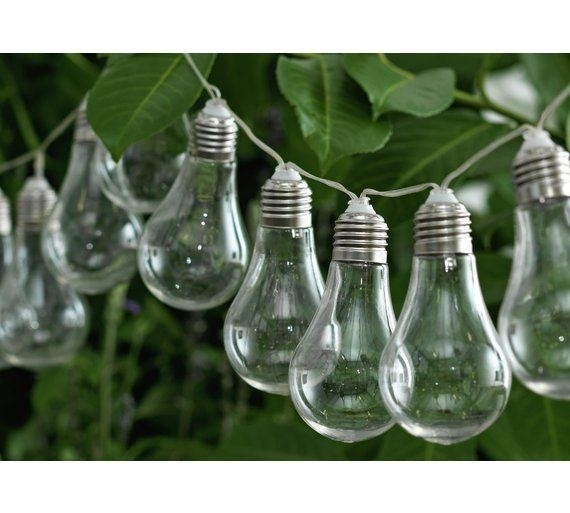 Buy Home Solar Powered Bulb String Lights – Set Of 20 At Argos.co (View 7 of 15)