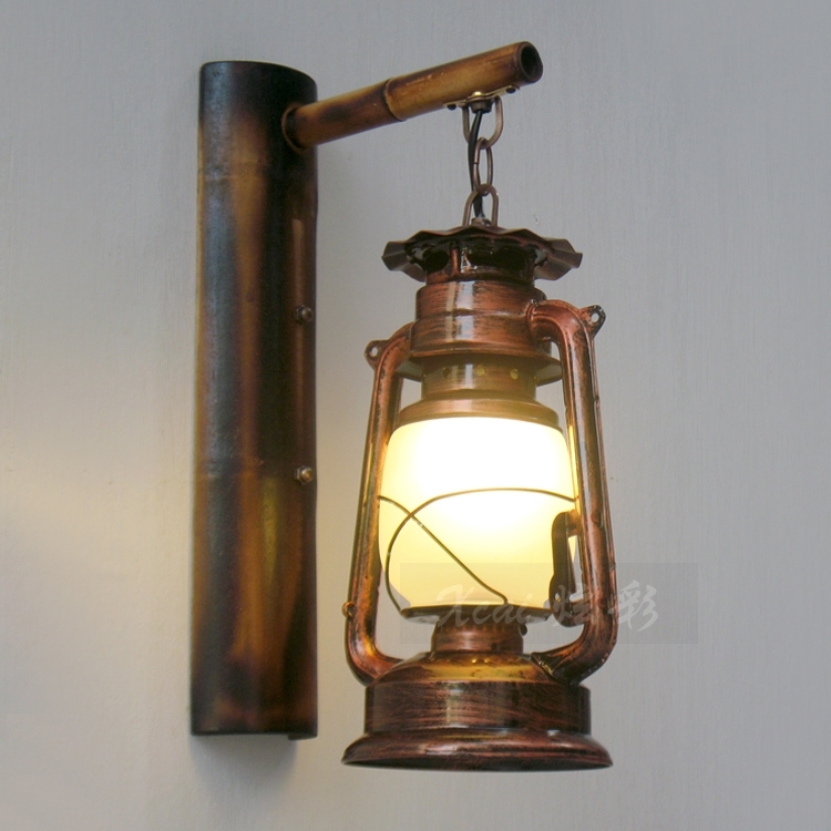 Buying New Ceramic Wall Sconce – Lighting And Chandeliers Throughout Rustic Outdoor Electric Lanterns (#2 of 15)