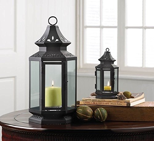 Inspiration about Candle Lantern Decor, Small Iron Stagecoach Outdoor Metal Candle Intended For Outdoor Metal Lanterns For Candles (#11 of 15)