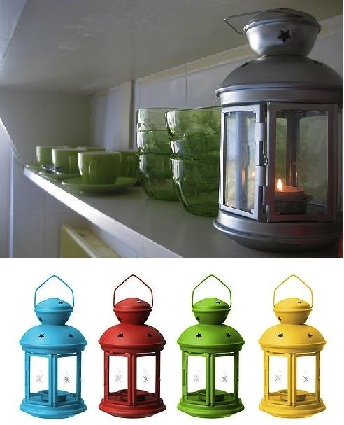 Popular Photo of Outdoor Tea Light Lanterns