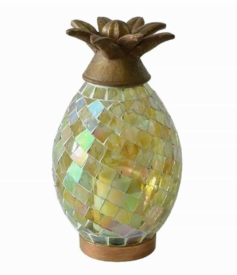 Carls Patio Furniture Outdoor Lanterns Glass Pineapple Lantern With Regarding Outdoor Pineapple Lanterns (#5 of 15)