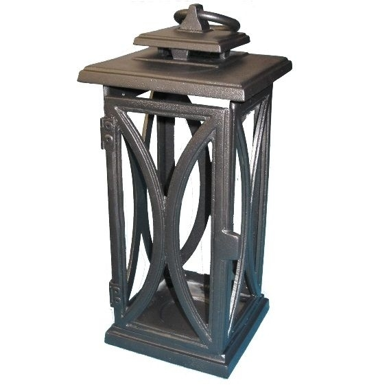 Cast Iron Lanterns – Black | Insideout Patio Furniture With Outdoor Cast Iron Lanterns (View 5 of 15)