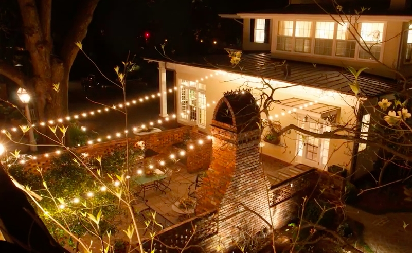 Charming Ideas Backyard String Lights Outdoor Lighting Perspectives With Outdoor Lanterns On String (View 2 of 15)