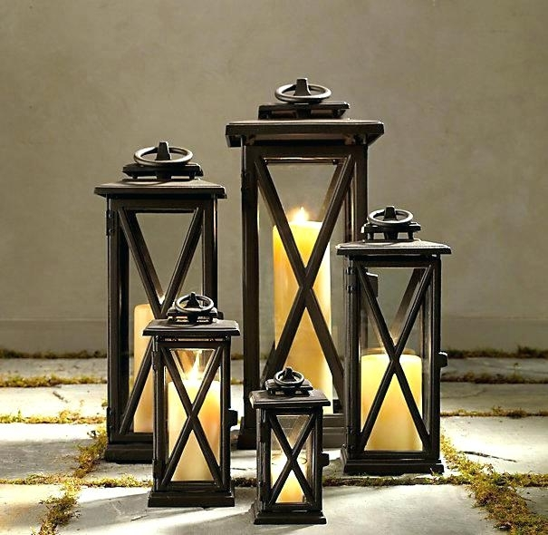 Cheap Outdoor Lanterns Indoor Lanterns Outdoor Lanterns For Candles In Extra Large Outdoor Lanterns (#2 of 15)
