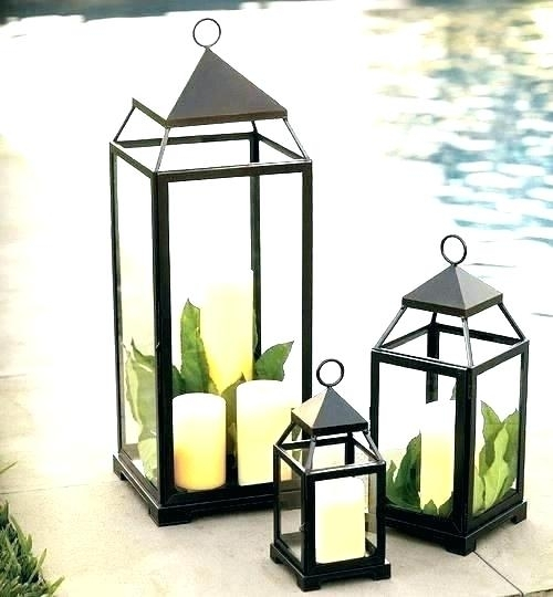 Cheap Outdoor Lanterns Indoor Lanterns Outdoor Lanterns For Candles Pertaining To Outdoor Lanterns With Candles (View 12 of 15)
