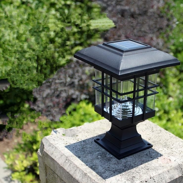 Cheap Solar Pillar Lights, Buy Quality Pillar Light Directly From Throughout Outdoor Pillar Lanterns (#4 of 15)