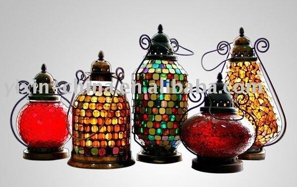 China Mosaic Glass Decorative Lantern, China Mosaic Glass Decorative Pertaining To Outdoor Mosaic Lanterns (#2 of 15)