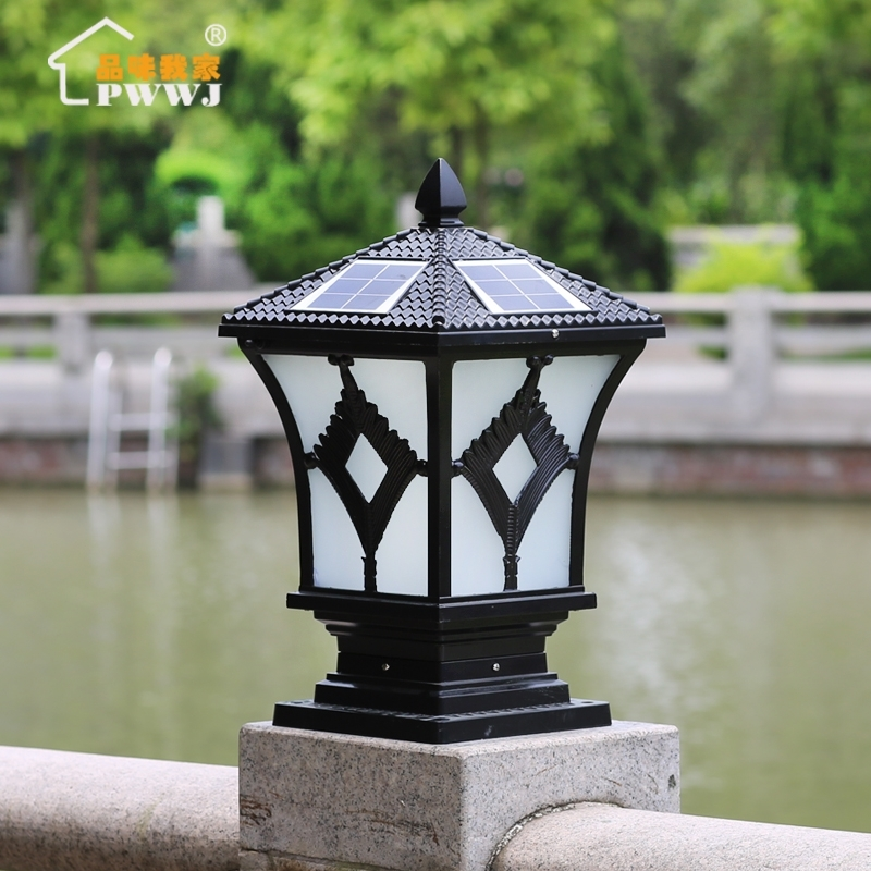 China Outdoor Lamp Pillar, China Outdoor Lamp Pillar Shopping Guide For Outdoor Lanterns For Pillars (#3 of 15)