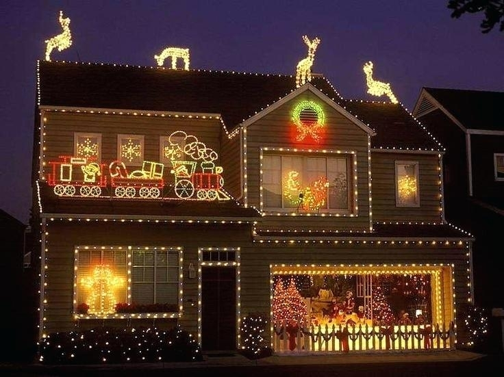 Christmas Light Display Ideas Best Lights Display Ideas On Intended Regarding Outdoor Lanterns For Christmas (View 9 of 15)