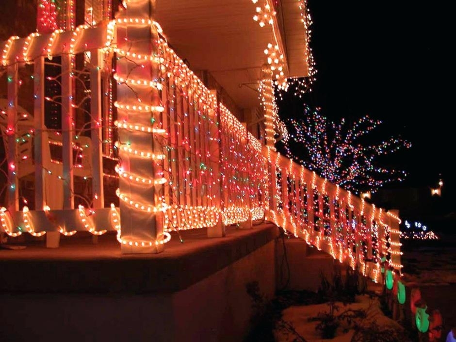 Christmas Light Ideas For Outside Swag For Porch Light Porch Outdoor Inside Outdoor Lanterns For Christmas (View 15 of 15)