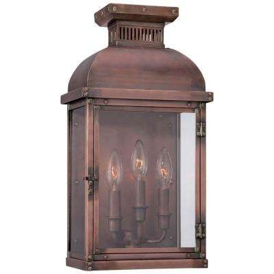 Classic – Copper – Outdoor Lanterns – Outdoor Wall Mounted Lighting Pertaining To Copper Outdoor Lanterns (View 11 of 15)