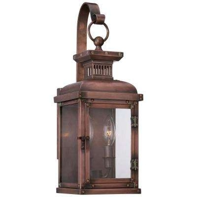 Classic – Copper – Outdoor Lanterns – Outdoor Wall Mounted Lighting With Regard To Copper Outdoor Lanterns (View 4 of 15)