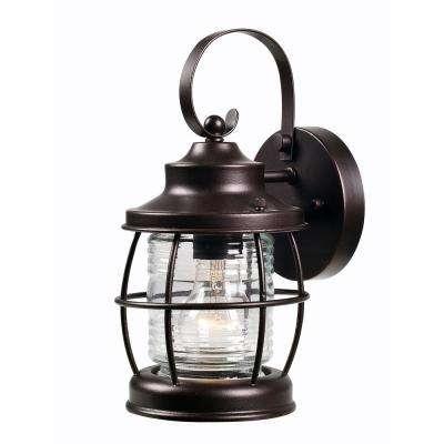Coastal/nautical – Bronze – Outdoor Wall Mounted Lighting – Outdoor Throughout Outdoor Bronze Lanterns (View 5 of 15)