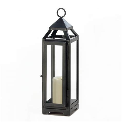 Colourful Outdoor Garden Hanging Metal Candle Lantern, Outdoor Metal Within Outdoor Metal Lanterns For Candles (View 7 of 15)