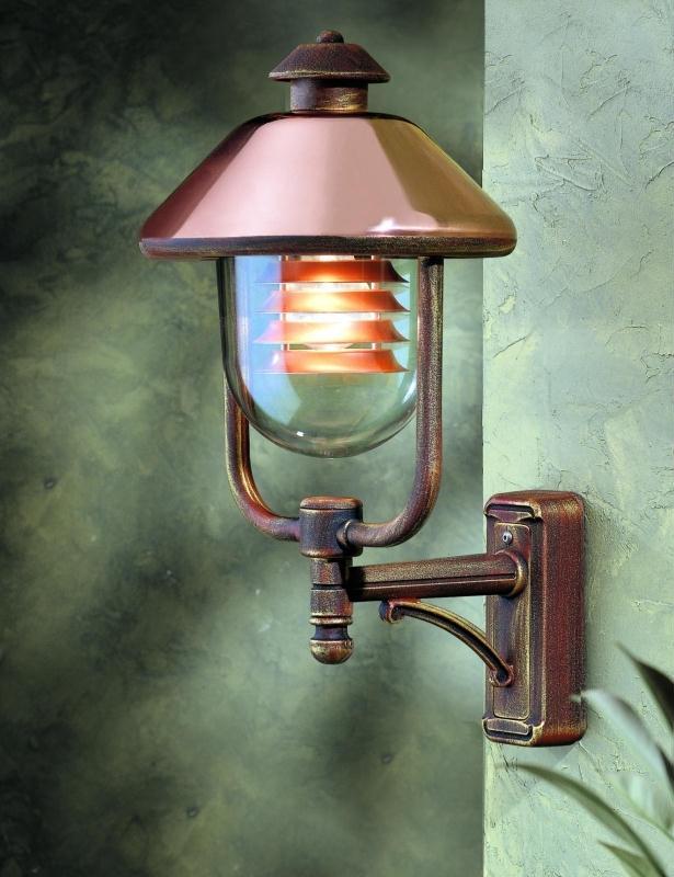 Contemporary Copper Outdoor Lantern   Italian Outdoor Cooper Lights Throughout Italian Outdoor Lanterns (#3 of 15)