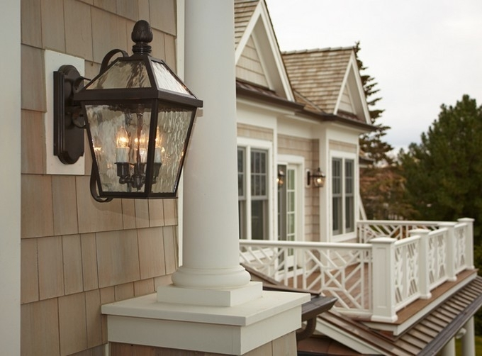 Cool Outdoor Lighting Wall Mount Large Outdoor Wall Lights Exterior Throughout Large Outdoor Wall Lanterns (View 3 of 15)