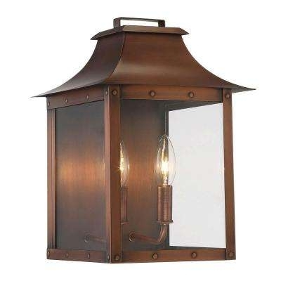 Copper – Acclaim Lighting – Outdoor Wall Mounted Lighting – Outdoor Inside Copper Outdoor Lanterns (View 7 of 15)