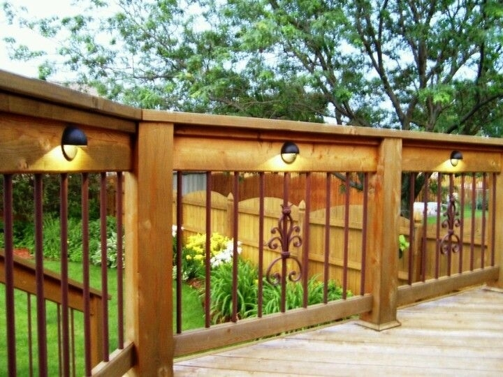Deck Lighting … | For The Home/in Home | Pinte… Within Outdoor Deck Lanterns (#6 of 15)