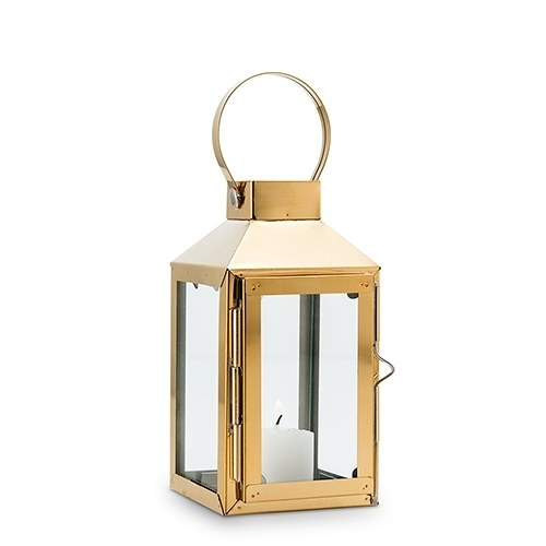 Decorative Candle Lanterns Indoor Outdoor – The Knot Shop Inside Gold Outdoor Lanterns (#11 of 15)