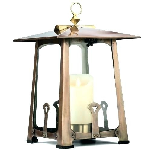 Decorative Outdoor Lanterns Cliff Wood And Metal Lanterns Battery With Outdoor Lanterns At Target (#2 of 15)
