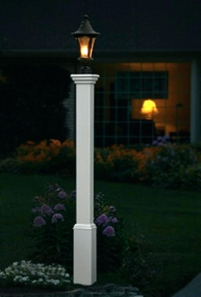 Inspiration about Decorative Outdoor Posts Decorative Light Post Decorative Vinyl With Outdoor Lanterns For Posts (#15 of 15)