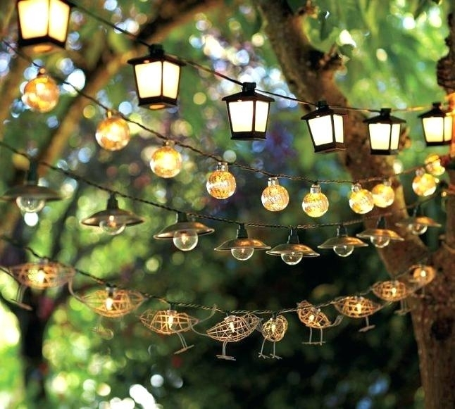 Inspiration about Decorative Outdoor String Lighting Alluring Decorative Lighting With Outdoor String Lanterns (#5 of 15)