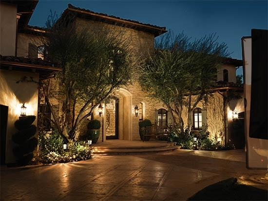 Designing A Landscape Lighting System – Ideas & Advice | Lamps Plus Intended For Outdoor Landscape Lanterns (View 9 of 15)