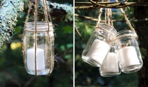 Diy Hanging Candle Lanterns For Outdoors Shelterness Hanging Outdoor For Outdoor Lanterns And Candles (View 14 of 15)