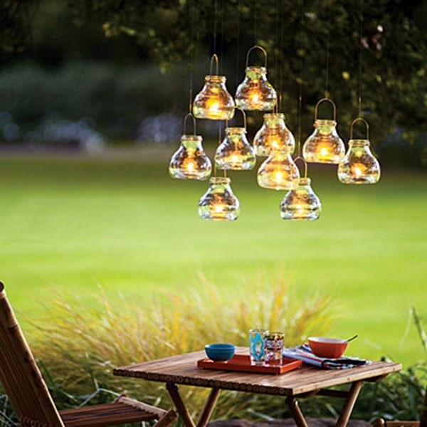 Inspiration about Diy Outdoor Hanging Lanterns. Hanging Clear Glass Lanterns Are With Outdoor Glass Lanterns (#9 of 15)
